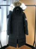 Canada Goose Down Jaket 22 With Removable Real coyote fur ruff Women-BY (35)
