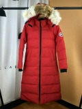 Canada Goose Down Jaket 22 With Removable Real coyote fur ruff Women-BY (36)