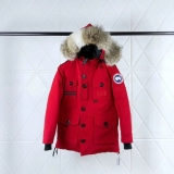 Canada Goose Down Jaket 150th anniversary With Removable Real coyote fur ruff Women-BY (40)