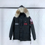 Canada Goose Down Jaket 150th anniversary With Removable Real coyote fur ruff Women-BY (41)