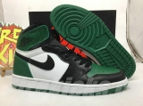 "Air Jordan 1 ""Pine Green"" AAA Men Shoes -SY"