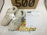 "(Final BC version with receipt and anti-fake label)Authentic Adidas Yeezy Wave Runner 500 ""Blush""Men And Women Shoes -Dong"