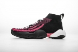 "Pharrell adidas Crazy BYW X ""Black Pink""Men Shoes -LY"