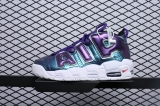 "Super Max Perfect Nike Air More Uptempo GS""Purple Iridescent""Women Shoes(98%Authentic)-JB (49)"