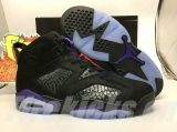 "Super Max Perfect Social Status x Air Jordan 6 ""Black Cat""Men Shoes  -SY"