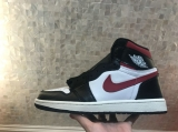 "Air Jordan 1 High ""Gym Red"" AAA Women Shoes -SY (46)"