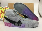 Authentic OFF-WHITE x Nike Blazer Mid Men Shoes -ZL