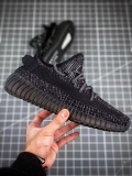 "Super Max Perfect Adidas Yeezy 350 Boost V2 black""Static Refective""Men And Women Shoes -JB"