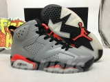 "Perfect Air Jordan 6 ""Reflective Silver""Men Shoes  -SY"
