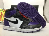 "Air Jordan 1 ""Court Purple"" AAA Men Shoes -SY"