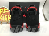 (Final version )Authentic Air Jordan 6 Black lnfrared 2019 -DG