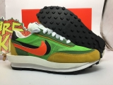 Sacai x Authentic Nike LDWaffle Green Gusto Men And Women Shoes -ZL (3)