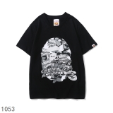 BAPE short round collar T man M-2XL (164)