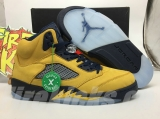 "Authentic Air Jordan 5 SP ""Michigan"" -ZL"