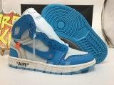 Authentic Off White x Air Jordan 1 OG GS UNC