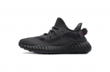 "Super Max Perfect Adidas Yeezy Boost 350 V3""Black Reflective""Men And Women Shoes -LYMTX"