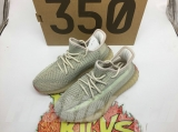"(Better quality)Super Max Perfect Adidas Yeezy Boost 350 V2 ""Citrin"" Men And Women Shoes (95%Authentic) FW3042 -JB2TS"