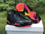 "Authentic Air Jordan 7 ""Black Patent Leather"" - ZL"