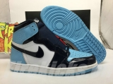 "(Final version)Authentic Air Jordan 1 ""UNC Patent"" -ZLDG"