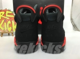 Super Max Perfect Jordan 6 Black lnfrared 2019 -ZL