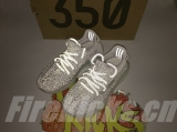 "Super Max Perfect Adidas Yeezy 350 Kid Boost V2 ""Static Reflective""(Real Boost-98%Authentic)- JB"