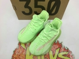 "Authentic Adidas Yeezy 350 Kid Boost V2 ""Glow In The Dark""- JB"