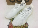 "Super Max Perfect Adidas Yeezy 350 V2 Boost ""Triple White"" Men And Women Shoes -LY"