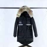 2019.10 Canada Goose Down Jacket 11 With Removable Real coyote fur ruff Women-BY (83)