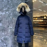 Canada Goose Down Jacket 15 With Removable Real coyote fur ruff Women-BY (79)