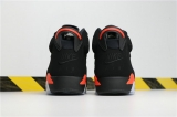 Perfect Jordan 6 Black lnfrared 2019 Women Shoes -SY(7)