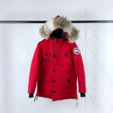 2019.10 Canada Goose Down Jacket 150th anniversary With Removable Real coyote fur ruff Women-BY (59)