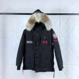 2019.10 Canada Goose Down Jacket 150th anniversary With Removable Real coyote fur ruff Women-BY (58)