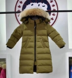 2019.10 Canada Goose Down Jacket With Removable Real coyote fur ruff Children-BY (7)