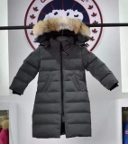 2019.10 Canada Goose Down Jacket With Removable Real coyote fur ruff Children-BY (10)
