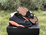 "Clot x Authentic Air Jordan 13 Low ""Infrabred"" GS-ZL"