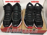"Super Max Perfect  Air Jordan XI ""2019-Bred""VS (Final version)Authentic Air Jordan XI ""2019-Bred"""