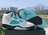 "2019.11 Air Jordan 5 AAA ""Island Green""  Men Shoes  -SY (49)"