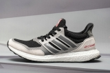 2019.11 Super Max Perfect Adidas Ultra Boost UB1.0  S&L Black Grey Four Red Real Boost Men  Shoes (Real Boost-98%Authentic)-LY (1)