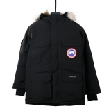 2019.11 Authentic Canada Goose Down Jacket 08 With Removable Real coyote fur ruff Men -BY (8)