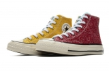 2019.11 Super Max Perfect  Anderson Converse Chuck Taylor 70 HI Red Yellow Women Shoes-LY (179)