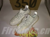 "Super Max Perfect Adidas Yeezy Boost 350 V2 ""Cloud White Reflective"" Men And Women Shoes-JB2MTX"