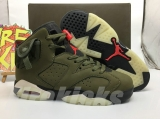 Travis Scott x Perfect Air Jordan 6 Women Shoes -SY(8)