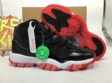 "Authentic Air Jordan 11""2019-Bred"" GS -ZLFZ"