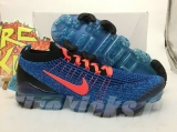 Authentic Nike Air Vapormax 2019 Flyknit 3 Blue Fury Men Shoes -LY (5)
