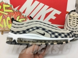 2019.11 Nike Super Max Perfect Air Max 97 Premium Plaid Light Cream Men And Women Shoes(98%Authentic)-LY (187)