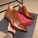 2020.01 Super Max Perfect Ferragamo Men Shoes(98%Authenic)-WX (11)