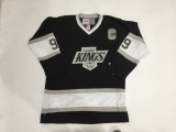 Los Angeles Kings #99 Wayne Gretzky Black CCM Throwback 2014 Stanley Cup Finals Stitched NHL Jersey