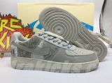 (Final version)Travis Scott x Authentic Nike Air Force 1 Men And Women Shoes -ZL