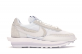 2020.03 Super Max Perfect  Nike LD Waffle Sacai White Nylon Men And Women Shoes -JB (9)