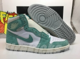 "(better quality)Super Max Perfect Air Jordan 1""Turbo Green""Men And Women Shoes(no worry!good quality,95%Authentic) -GET"